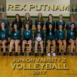 2017 JV2 Volleyball Team