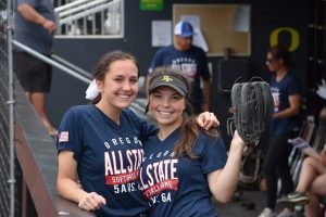 2018 All State Softball players