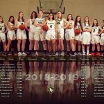 2018 Varsity Girls Basketball team photo