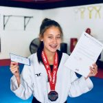 Amanda McClements National Taekwondo Champion