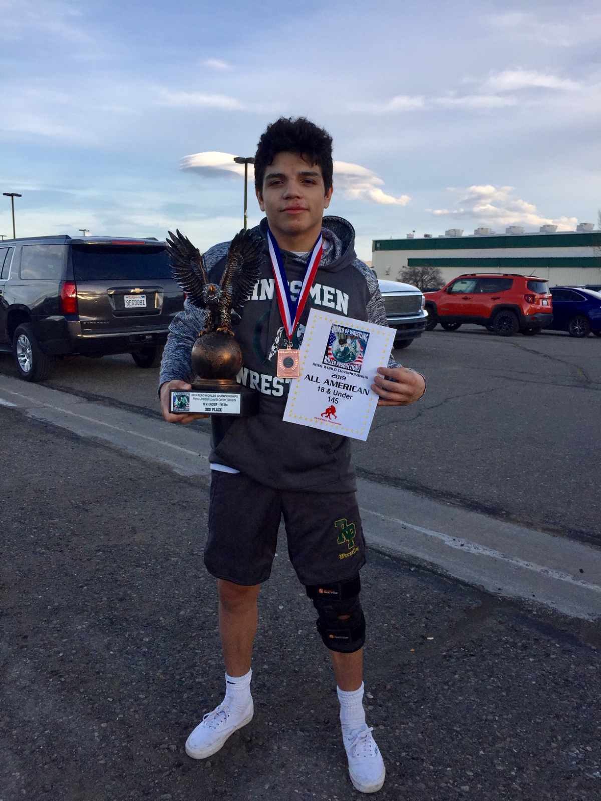 Jonny Hernandez placed 3rd in the 2019 Reno Worlds Championship
