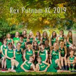 2019 Cross Country Team photo
