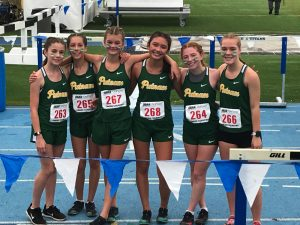 2019 Girls Cross Country at State Meet