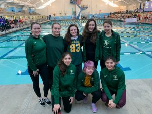 2020 Girls swim qualifies for state!!