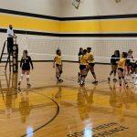 Rock Creek vs. Clarksville Volleyball Scrimmage