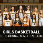 Girls Basketball Advance in Sectional 46