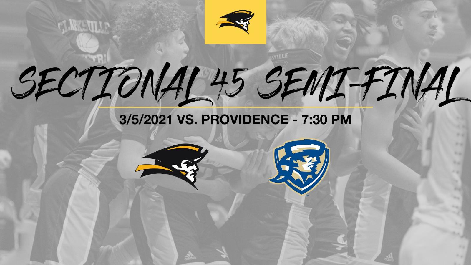Boys Basketball Sectional vs. Providence 3/5/2021