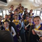 Gilbert Classical Academy Coed Middle School Sideline Cheer 8th Grade finishes 2nd place