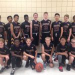 Gilbert Classical Academy Boys Middle School Basketball 7th/8th beat Desert Ridge Junior High 40-26