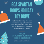 Spartan Hoops Holiday Toy Drive