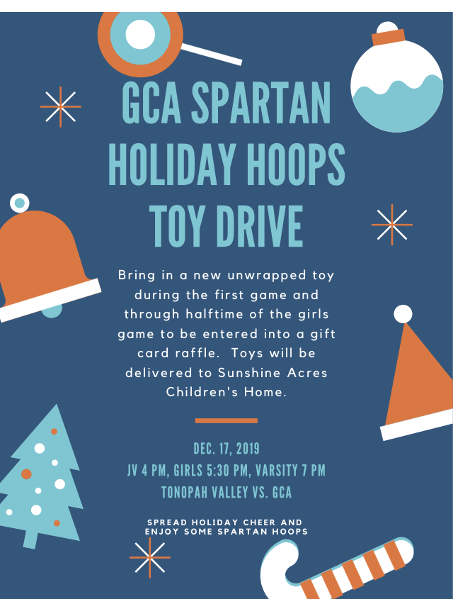 Holiday Hoops Toy Drive