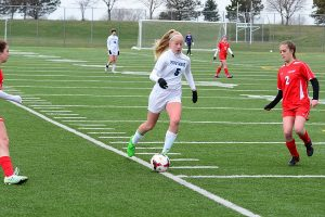 JV Girls Soccer 3-19-16 vs Millard South