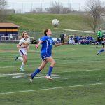 Millard North High School Girls Junior Varsity Soccer beat Bellevue West Senior High School 5-0