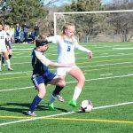 Millard North High School Girls Junior Varsity Soccer beat Elkhorn South High School 1-0
