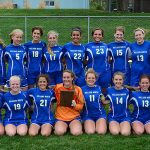 Millard North High School Girls Junior Varsity Soccer beat Westside High School 2-1