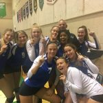 Millard North High School Girls Junior Varsity Volleyball beat Millard South High School 2-0