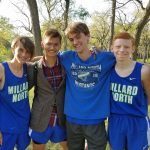 Millard North High School Boys Varsity Cross Country finishes 8th place