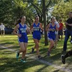 Millard North High School Girls Varsity Cross Country finishes 4th place