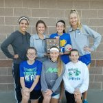 Millard North High School Girls Varsity Cross Country finishes 2nd place