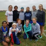 Millard North High School Girls Varsity Cross Country finishes 3rd place