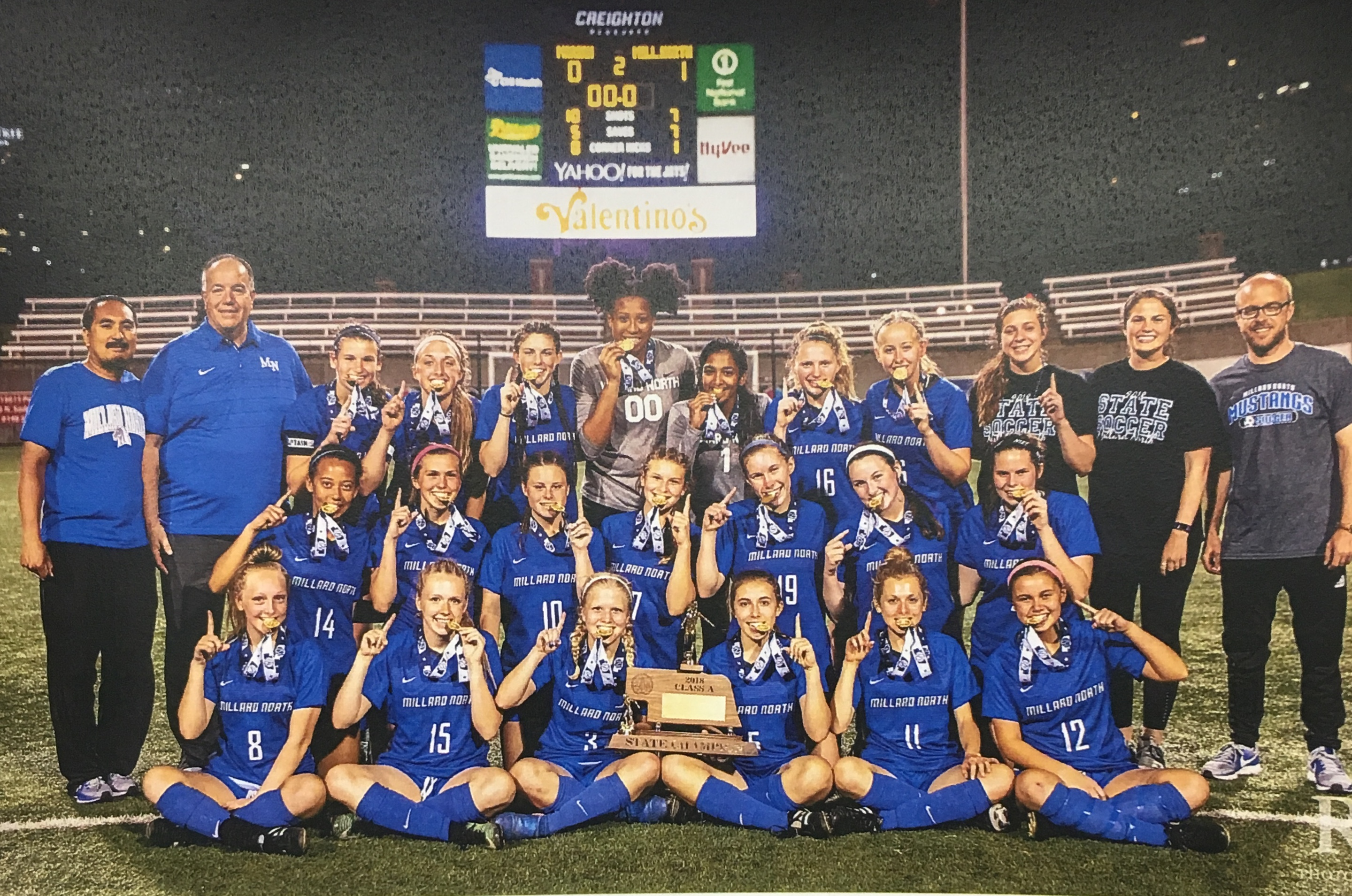 MN Girls Soccer Takes State Title