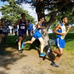 Freshmen Korbin Welker and Will Ramsey Lead the Mustang Boys Cross Country Team at the UNK Invite