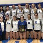 Girls Varsity Volleyball beats Omaha Central 3 – 0