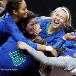 Girls Varsity Volleyball beats Gretna 3 – 0