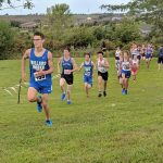 The MN Boys Cross Country team takes home 4 medals @ Walnut Creek & the freshman team scores 4th