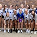 Girls Varsity Volleyball takes 3rd at Bellevue Invite