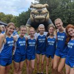 Allison Louthan WINS the Varsity Girls Cross Country Race at the Burke Invite and the Varsity Team Places 3rd