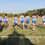 Boys Varsity Cross Country finishes 5th place at Invitational @ Pioneer Park