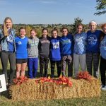 Girls Varsity Cross Country Qualifies for State with a 3rd Place Finish at the District Meet