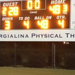 Fox Creek High School Varsity Football beat Dixie High School 48-28