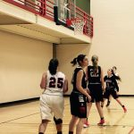 Fox Creek High School Girls Varsity Basketball falls to Augusta Christian School 38-20