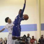 Fox Creek High School Boys Varsity Basketball falls to Silver Bluff High School 45-48