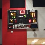 Fox Creek High School Boys Varsity Basketball beat Silver Bluff High School 47-44