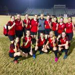 Fox Creek High School Girls Varsity Soccer beat Cross Creek High School 8-0
