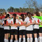Fox Creek High School Girls Varsity Soccer beat Eau Claire High School 1-0