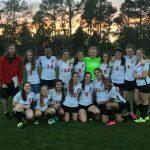Girls Varsity Soccer beats Saluda 2 – 1