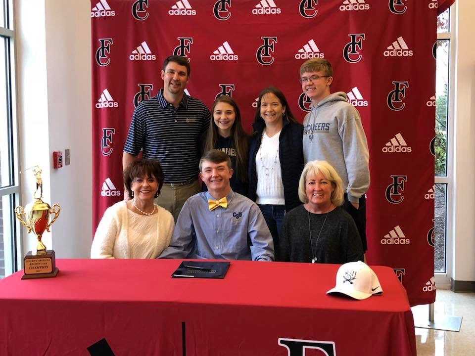 Colin Trahan Signs with Charleston Southern University