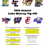 Varsity Boys Basketball Competes in the 28th Annual Lake Murray Tip-Off