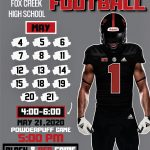 Spring Football Practice Dates (Along with Powerpuff and Spring Game) Are Set