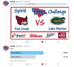 SCHSL Spirit Challenge Update: FCHS Advances to the Next Round!