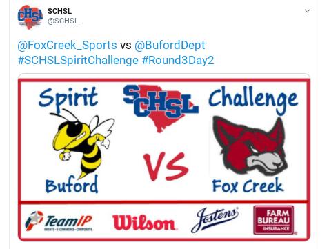 SCHSL Spirit Challenge – Round 3! – FCHS Needs Your Vote!