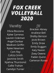 2020 JV and Varsity Volleyball Rosters Are Set!