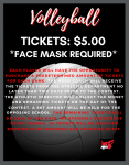 Volleyball Spectator/Ticket Info for HOME Games