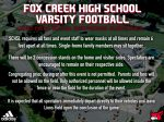 Home Varsity Football Social Distancing Guidelines