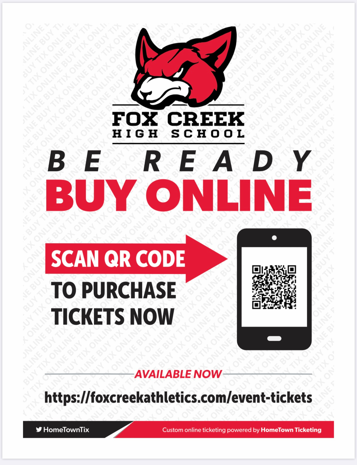 IMPORTANT: Purchase Tickets ONLINE ONLY for ALL HOME Basketball Games