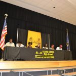 Goose Creek student athletes sign college scholarships.